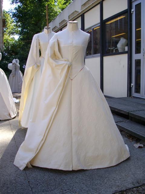 Moulage de la robe